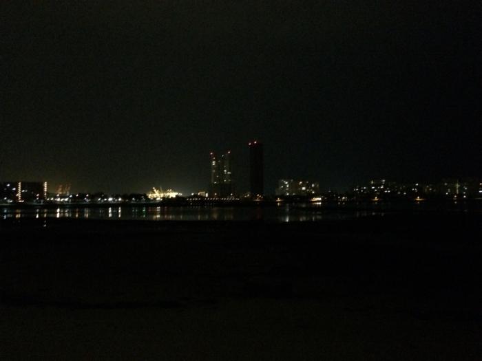 朝ランなのに夜景_c0116778_16350396.jpg
