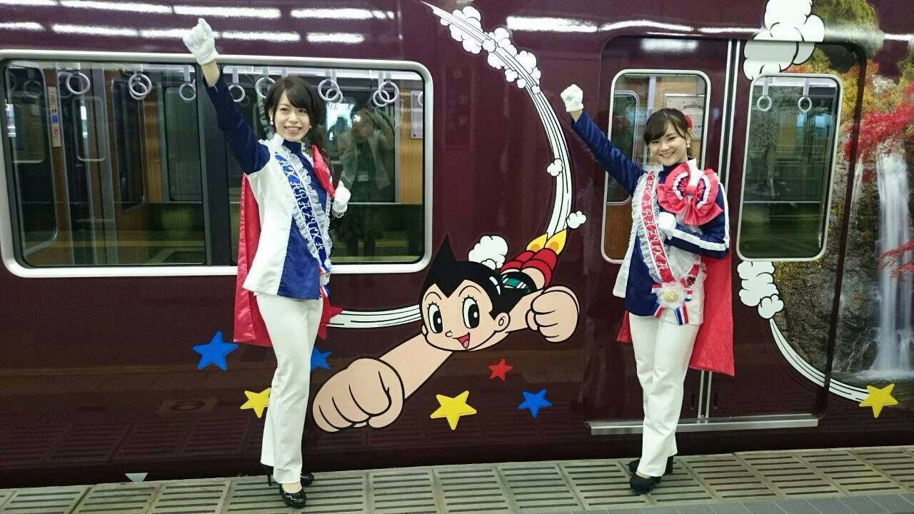 阪急ラッピング電車お披露目会_a0218340_21072857.jpg