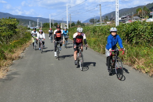 『琵琶湖 長浜 鮎サイクリング』の様子_b0332867_21370371.jpg