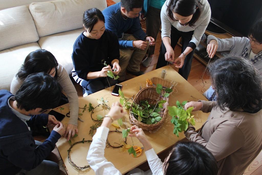 第4回 【青葉・都筑】町の縁側サロン 「旬を味わう・野菜と暮らす」2015年11月1日(日)開催しました_c0310571_08545199.jpg