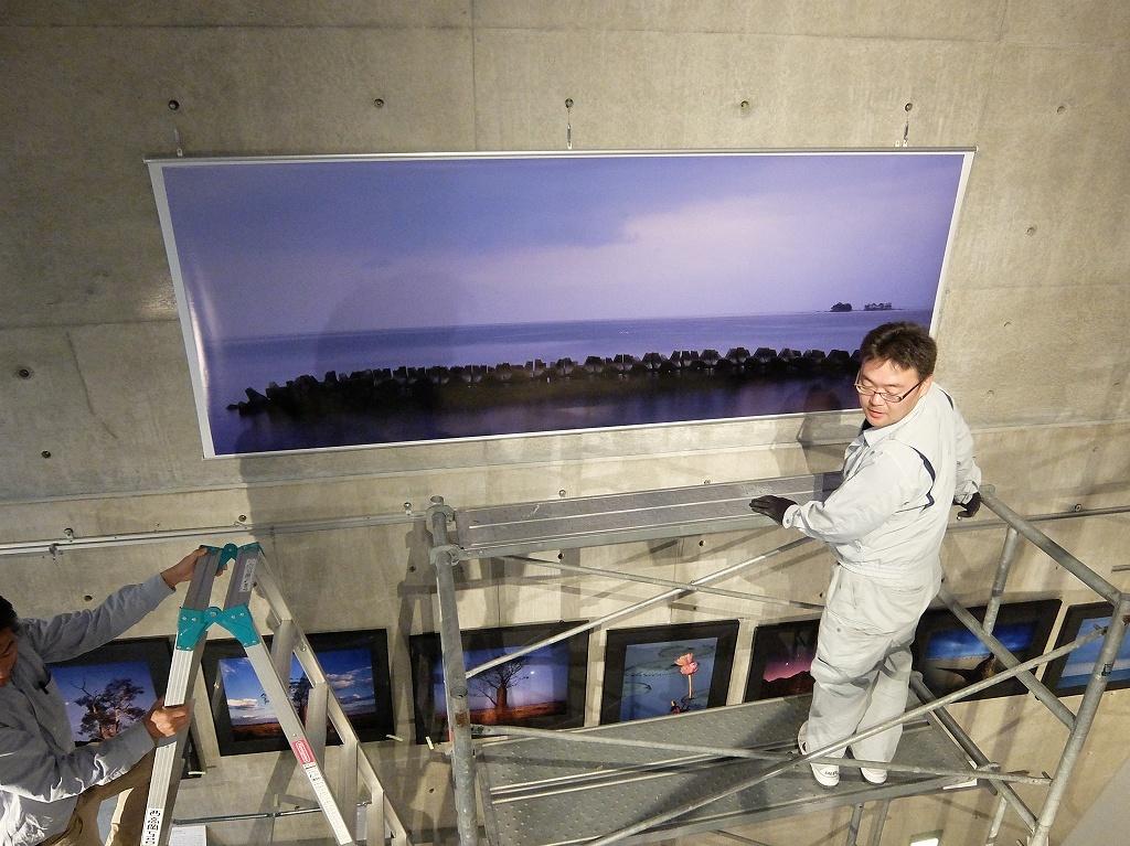 大型作品 富山風光山水図&巨大バナー完成_f0050534_00095666.jpg