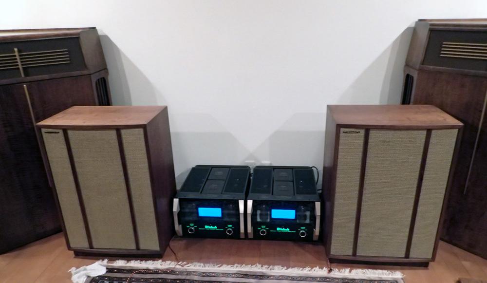S氏宅へ マッキントッシュ MC2301を納品してきました。_b0262449_21052570.jpg