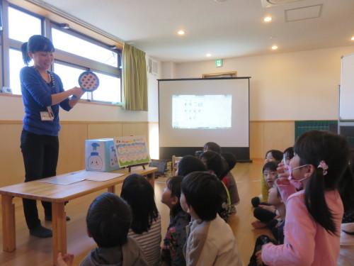 幼児クラスのみんなで手洗いの練習をしました☆_f0327175_18212956.jpg