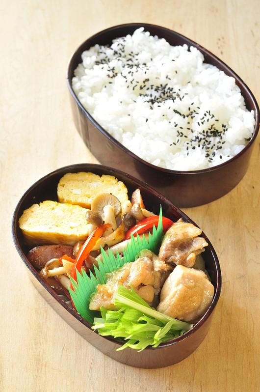 煮物弁当 と 味覚の授業_b0171098_9502252.jpg