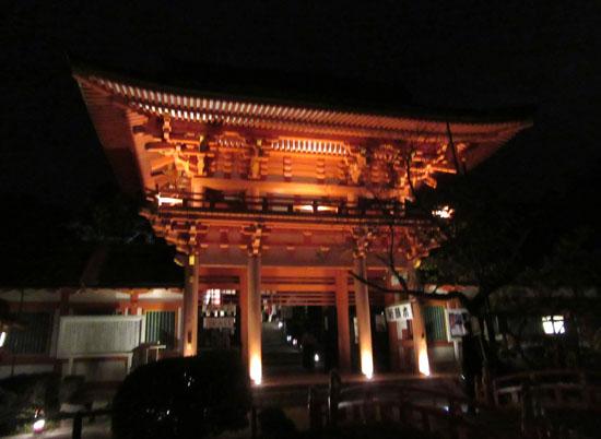上賀茂神社 夜間特別公開_e0048413_2181856.jpg