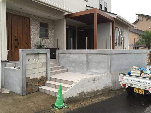 宮崎市T様 garden renovation_b0236217_11334325.jpg