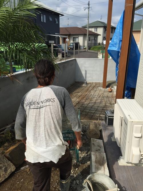 宮崎市T様 garden renovation_b0236217_11385419.jpg
