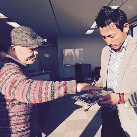 マサミチさんと神崎さんライブセッション_b0129832_18060871.jpg