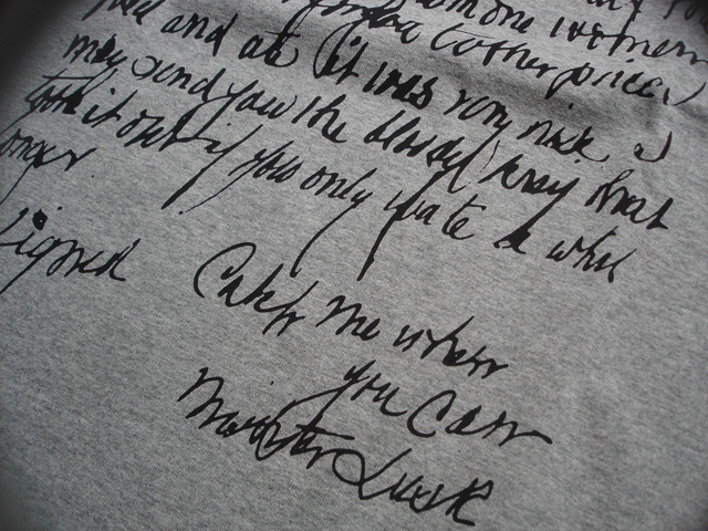 NEW : Ballistics [PRINT Tee Shirt] 7.1oz Cotton !!_a0132147_1941557.jpg