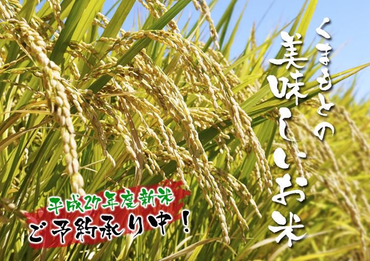 平成27年度新米!熊本の美味しいお米(七城米、砂田のれんげ米、菊池水源棚田米)好評発売中! _a0254656_163648.jpg