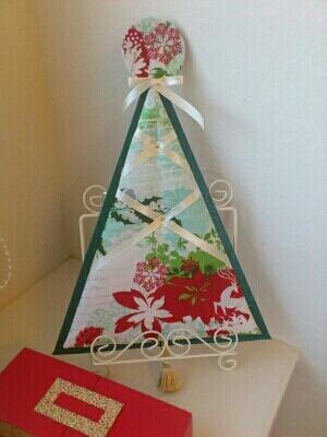 カルトナージュでクリスマスを飾りましょう!レッスン募集です。_c0206366_23462784.jpg