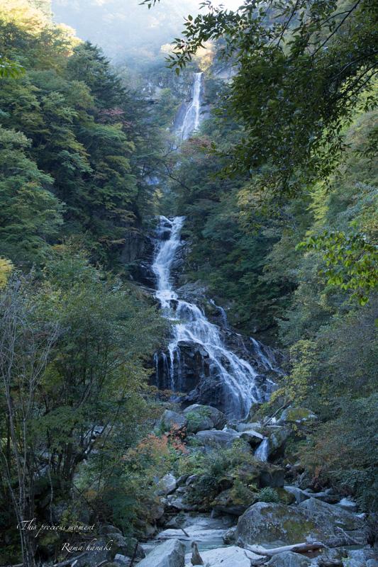 10月半ばの精進ヶ滝_c0137403_14401116.jpg