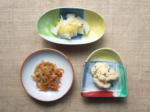 古川桜さんの四寸皿に。_a0026127_15121123.jpg
