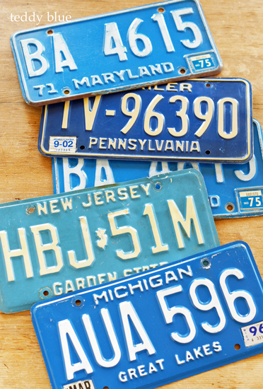 vintage license plates  ヴィンテージライセンスプレート_e0253364_15433167.jpg