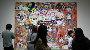 村上隆の展覧会へ_d0297177_21434215.jpg