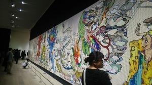 村上隆の展覧会へ_d0297177_21434738.jpg