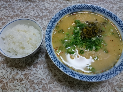 ハウス食品 うまかっちゃん博多からし高菜風味_b0042308_1229174.jpg