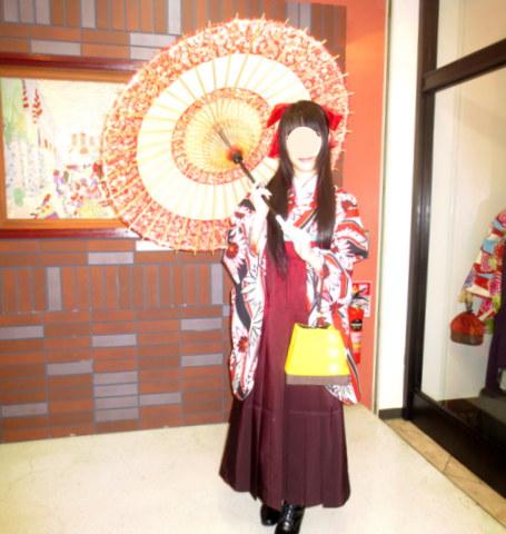 横浜で楽しむ、袴。。。_f0205317_21502842.jpg