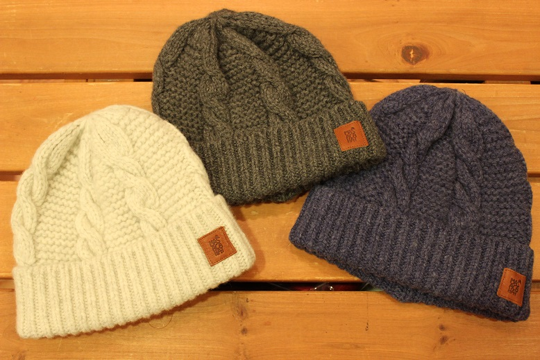 "MASACA HAT ""WOOL CABLE KNIT CAP\"" ご紹介_f0191324_9255288.jpg"