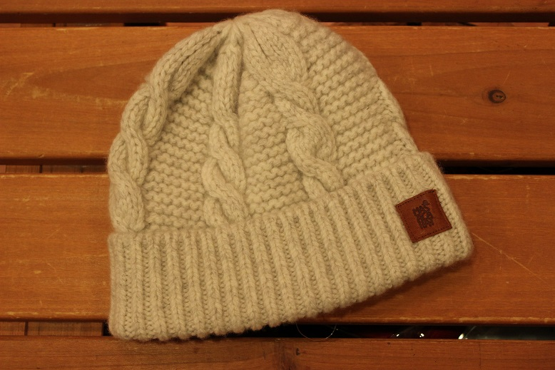 "MASACA HAT ""WOOL CABLE KNIT CAP\"" ご紹介_f0191324_9262919.jpg"