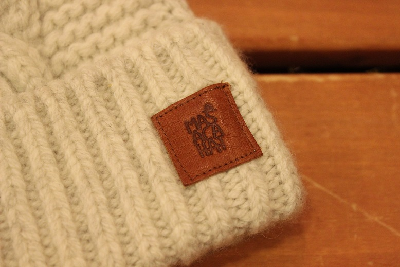 "MASACA HAT ""WOOL CABLE KNIT CAP\"" ご紹介_f0191324_9263693.jpg"
