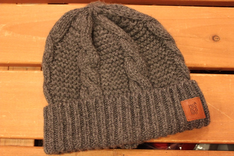 "MASACA HAT ""WOOL CABLE KNIT CAP\"" ご紹介_f0191324_9271242.jpg"