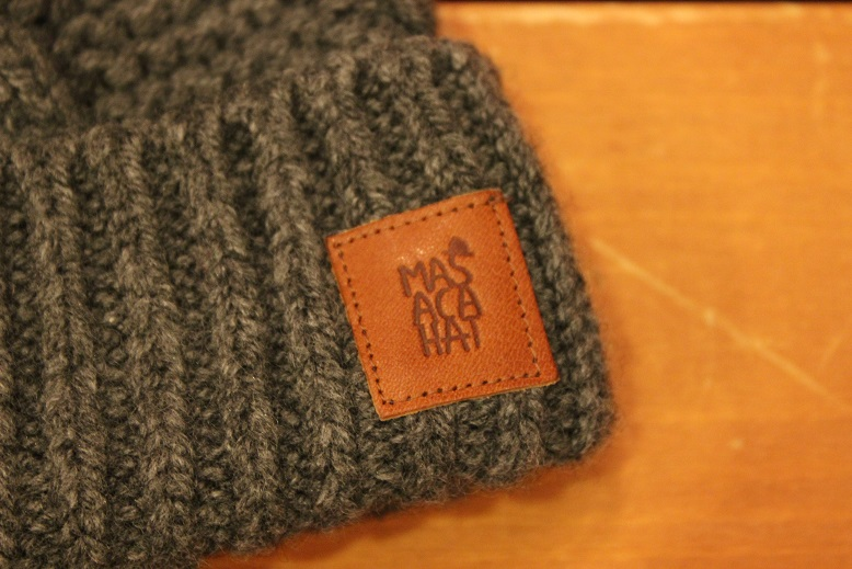 "MASACA HAT ""WOOL CABLE KNIT CAP\"" ご紹介_f0191324_9272097.jpg"