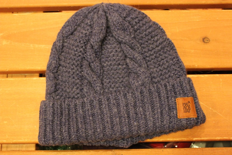 "MASACA HAT ""WOOL CABLE KNIT CAP\"" ご紹介_f0191324_9273946.jpg"