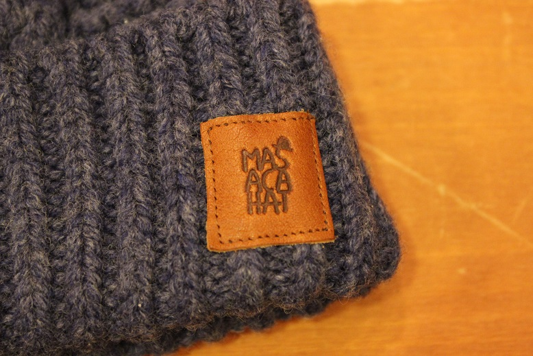 "MASACA HAT ""WOOL CABLE KNIT CAP\"" ご紹介_f0191324_9274670.jpg"