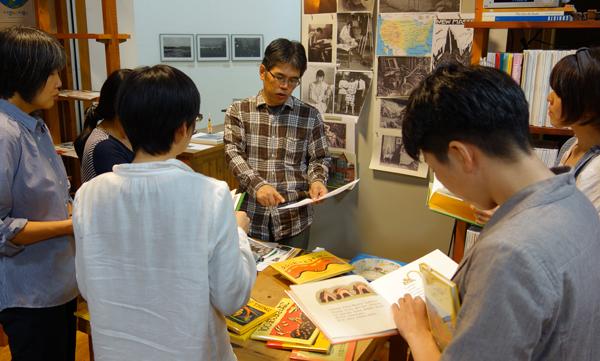 今年最後の【451BOOKS 大人のための絵本講座2015】_a0017350_23315014.jpg