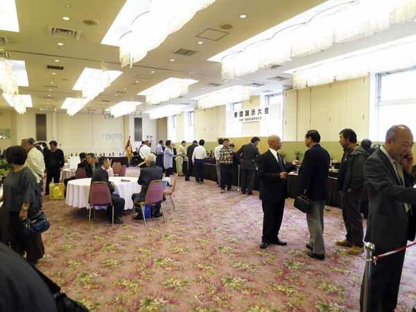京楽焼鉢「五柳寿運」                      No.1550_d0103457_15483426.jpg