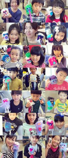 モジャ人形たち〜!_e0119964_1692923.jpg