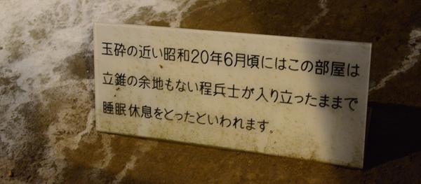 地下の穴倉に4000人もの兵士を収容~沖縄・旧海軍司令部壕写真_e0171573_13572232.jpg