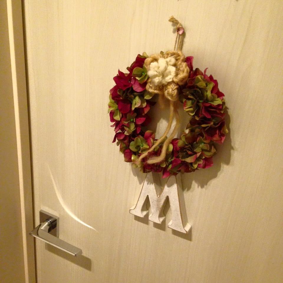 Christmas Decoration on the door_b0195783_10583012.jpg