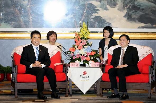 特別転載、日本滋贺县代表团访湘 全面深化交流与合作_d0027795_12564761.jpg
