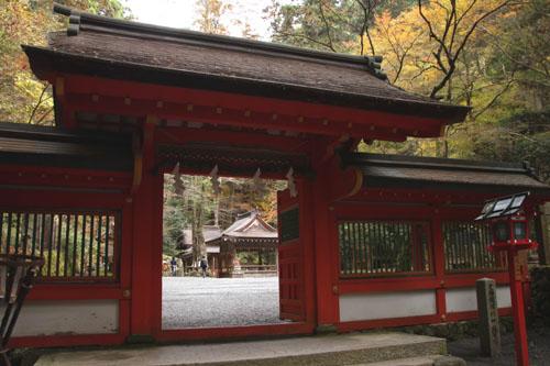 紅葉だより3 貴船神社2 エイデンと奥宮_e0048413_2039135.jpg