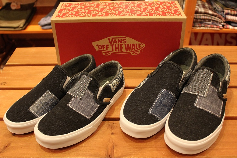 "VANS 2015 HOLIDAY LINE ""SLIP-ON\"" Item ご紹介_f0191324_9282130.jpg"