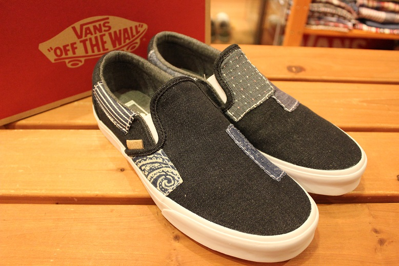 "VANS 2015 HOLIDAY LINE ""SLIP-ON\"" Item ご紹介_f0191324_9283364.jpg"