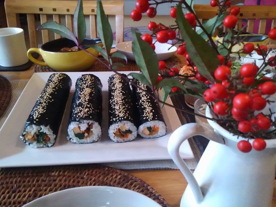 11月は韓国風料理です(^_-)-☆_e0170128_16452035.jpg