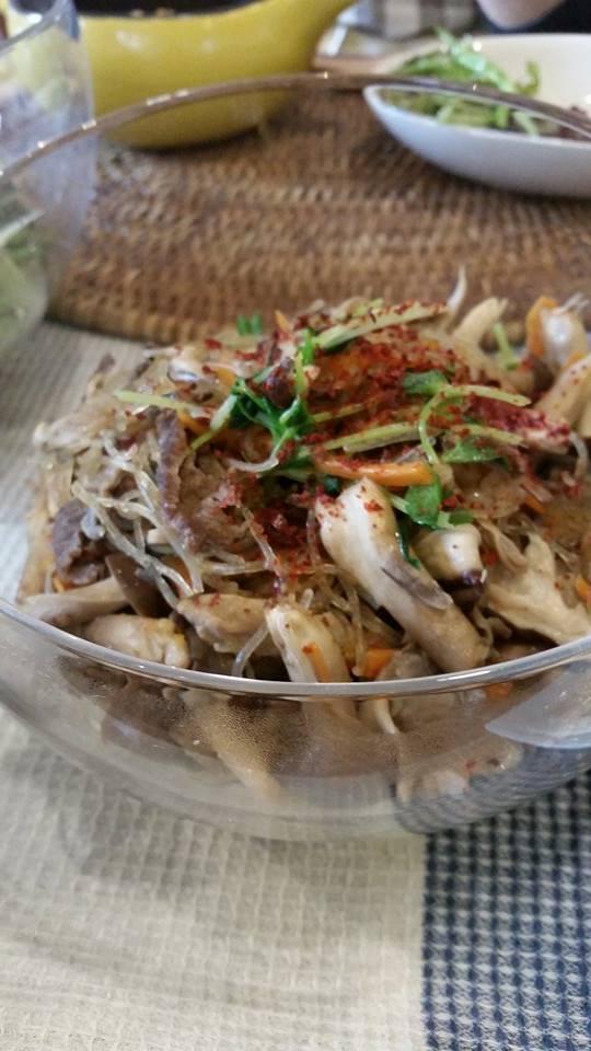 11月は韓国風料理です(^_-)-☆_e0170128_16515417.jpg