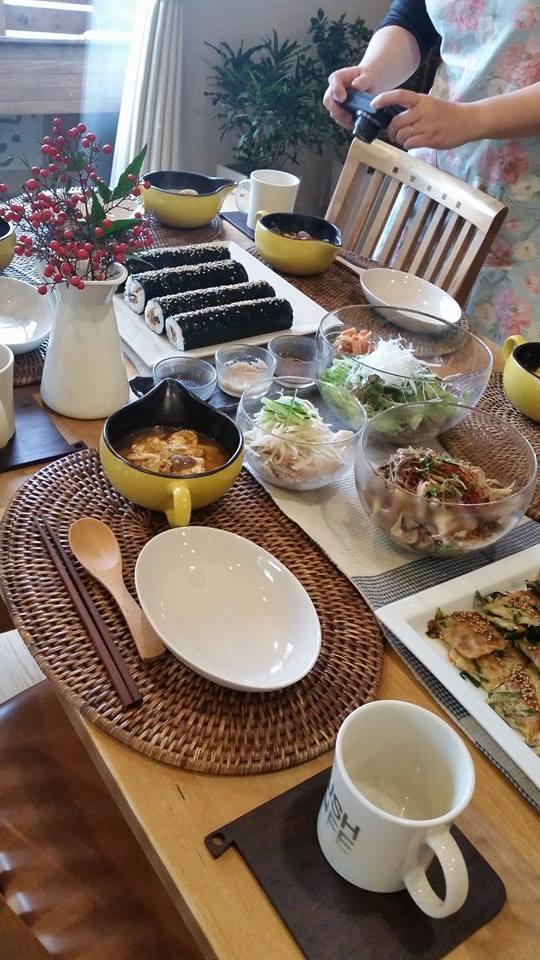 11月は韓国風料理です(^_-)-☆_e0170128_16524987.jpg