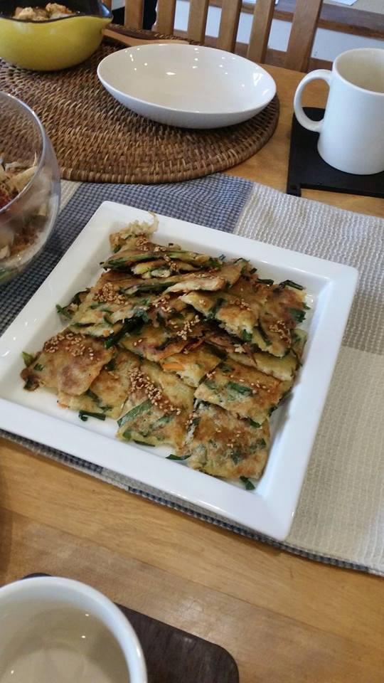 11月は韓国風料理です(^_-)-☆_e0170128_16564144.jpg