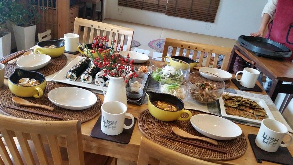 11月は韓国風料理です(^_-)-☆_e0170128_16565682.jpg