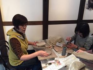 第34回 むくのき倶楽部陶芸教室_f0233340_0393251.jpg