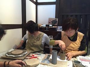 第34回 むくのき倶楽部陶芸教室_f0233340_0494123.jpg