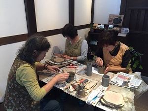 第34回 むくのき倶楽部陶芸教室_f0233340_0505533.jpg