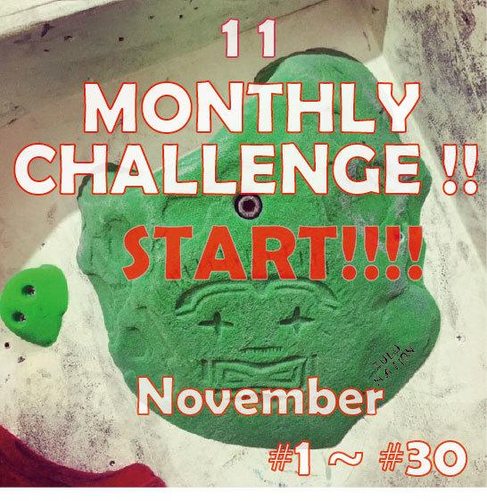 MONTHLY CHALLENGE ♫_d0246875_22181280.jpg
