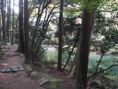 「山中温泉俳諧句碑」巡り⑮馬洗い川から「こおろぎ橋」へ_f0289632_1916120.jpg
