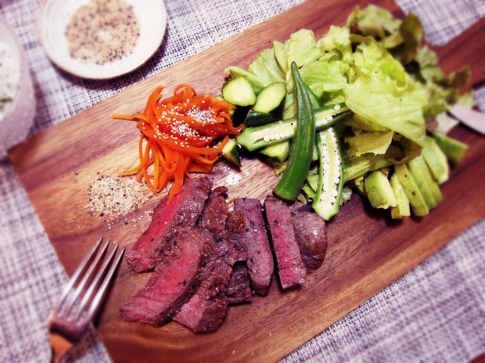 お肉には焼きにんにくこしょう塩_c0357333_20305815.jpg