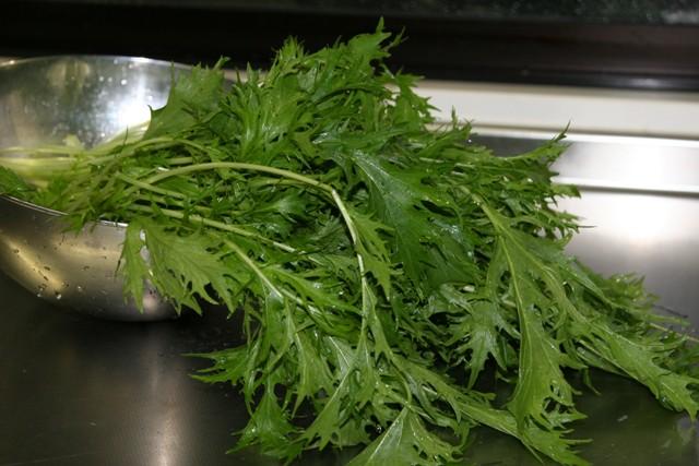 畑の 冬野菜で夕飯。_f0229190_15123461.jpg